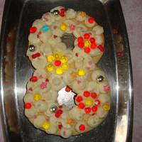 Торт Цифра (медовые коржи)