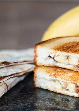 Бутерброд Банан в шоколаде