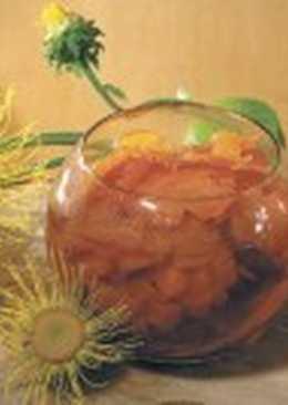 Морковь, консервированная в яблочном соке