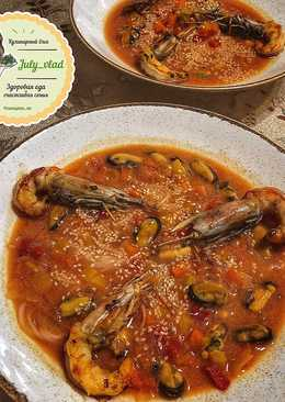 ПП-суп с морепродуктами