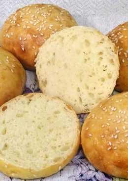 Булочки из картофельно-дрожжевого теста для гамбургеров и не только
