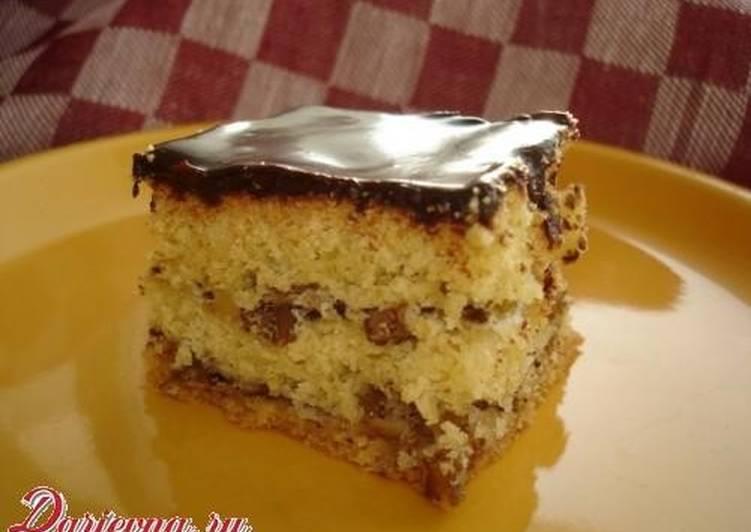 торт мишка рецепт с арехом
