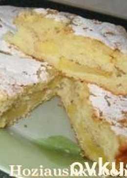 """Рецепт приготовления: """"Майский пирог с фруктами"""""""