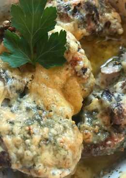 Запеченные кусочки курицы 🍗 под сыром 🧀
