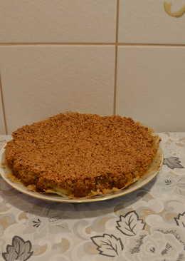 Пирог из овсяных хлопьев! Печем пирог без муки! Яблочный пирог