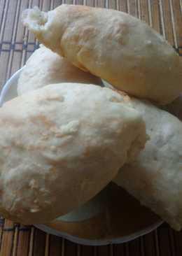 Постные пирожки с капустой без масла