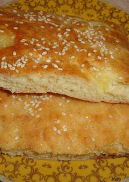 "Масляный пирог по журналу ""Бурде Моден"""