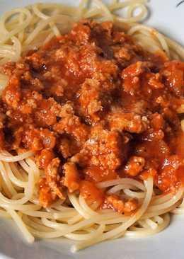 Спагетти а-ля болоньезе/Томатно-мясной соус для спагетти