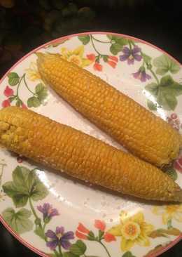 Царица полей! отварная кукуруза