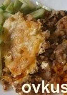 Мясо с гречкой в горшочках