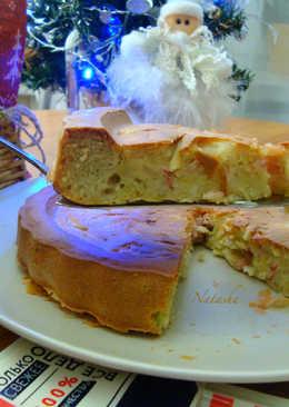 Заливной пирог с жареной капустой, луком и балыком Дарницкий от Ремит