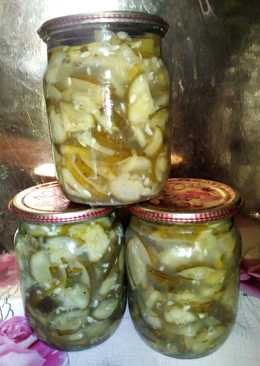Салат из огурцов (на зиму) #заготовки