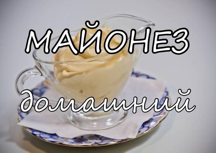рецепт майонез в блендере