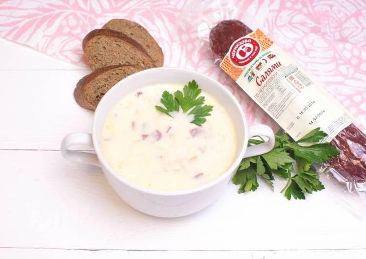 салями суп рецепт с фото