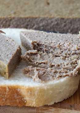 Датский сливочный паштет из печени