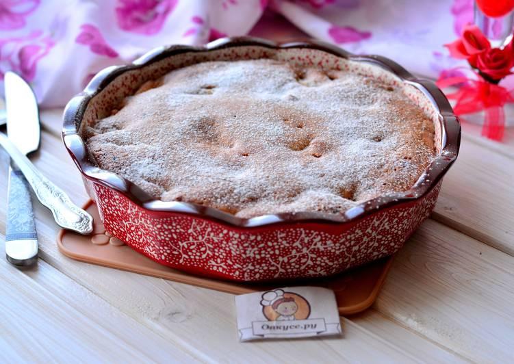 Яблочный быстрый пирог