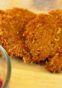 Куриные шницели в сырной панировке