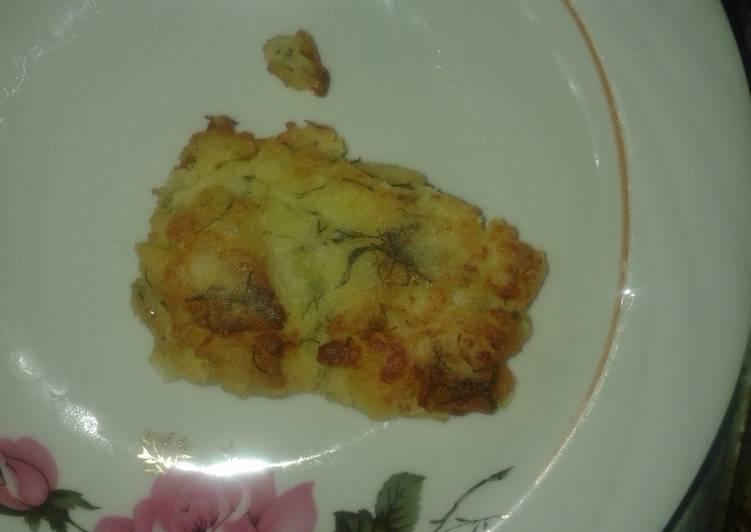 Котлетки из картошки или картофельники