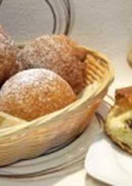 Пончики с орехами и маком