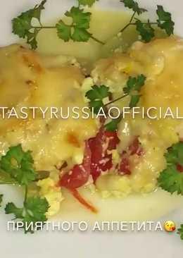Кабачки с сыром, запечённые в духовке