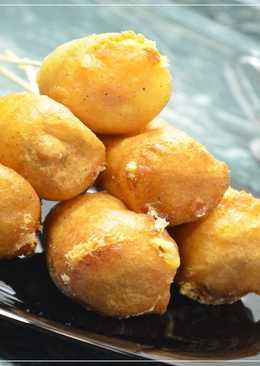 Корн ДОГ с сыром или Сосиски в тесте. Рецепт закуски за считанные минуты!