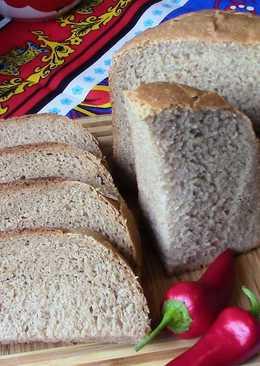 Ржано пшеничный хлеб на квасе. Рецепт для хлебопечки