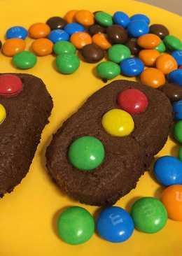 """Шоколадное печенье """"светофор"""""""