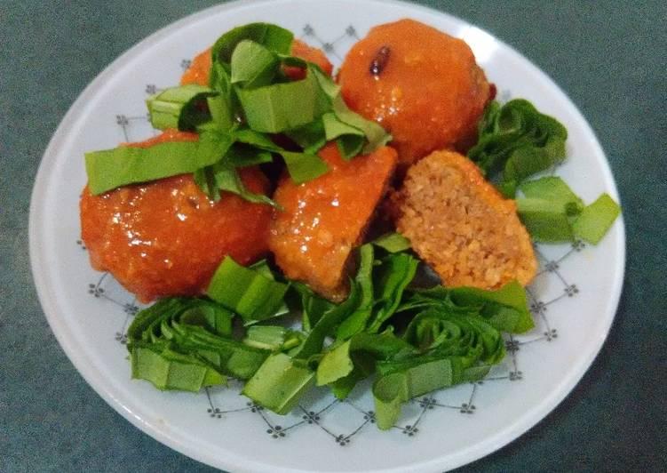 Морковные тефтели