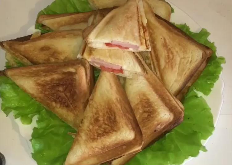 Легкий и быстрый завтрак - Сэндвич