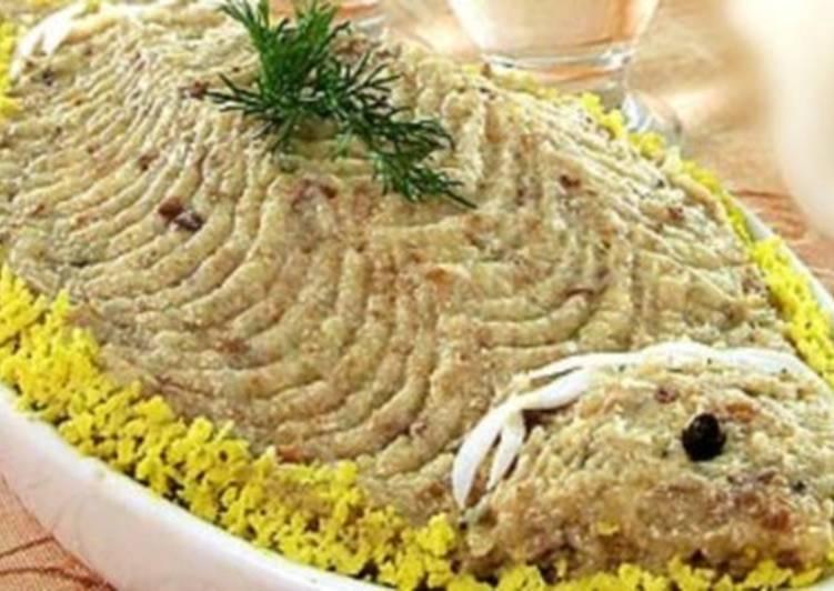 Закуска из рубленой сельди по-татарски