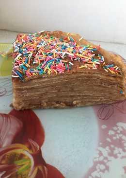 Блиновый торт