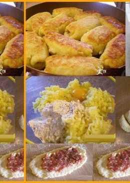 Рулеты картофельные с фаршем