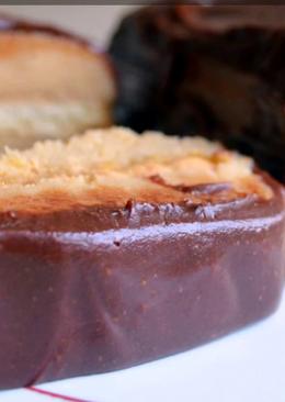 Шоколадная глазурь из какао-порошка для украшения торта