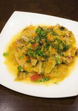 Вкусная овощная солянка с грибами в мультиварке