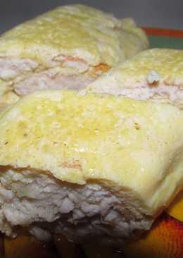 Рулет из куриного фарша с яйцом и с сыром, простой рецепт - вкусная закуска