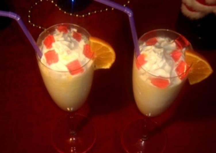 Молочный коктейль с медом