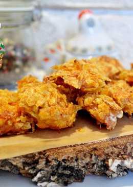 Куриное филе запечённое в чипсах