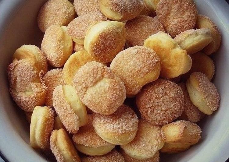 рецепт простых печенья с сахаром