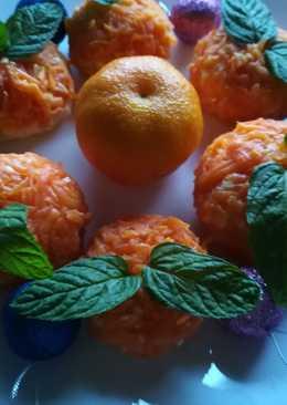 Сытная, Красивая, Сырная закуска «Мандарины»на Новогодний Стол
