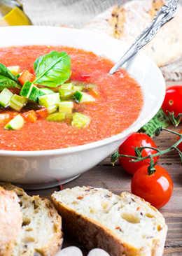 Постный Суп Гаспачо - Постное меню - Холодный томатный суп