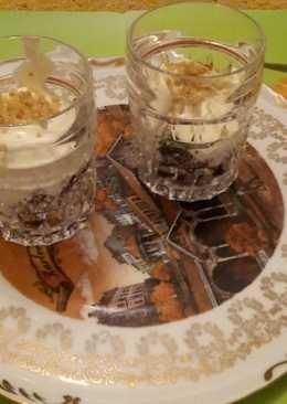 Сливы с фундуком, мёдом и кварком (творогом)