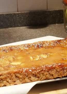 Вегетарианский яблочный пирог (пирог без яиц)