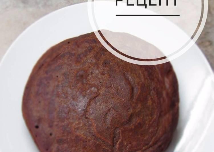 Шоко-блинчики из тыквы