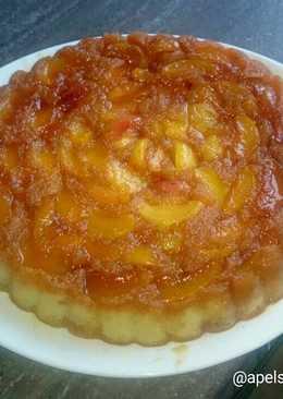 Нектариновый перевернутый пирог