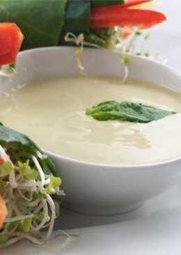 Сливочный соус французский к салатам
