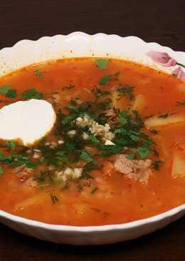 Сытный рисовый суп в мультиварке