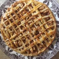 Медово-яблочный пирог #спас