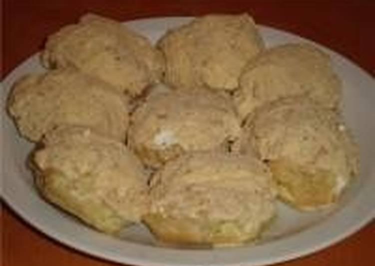 Картофельные пирожные