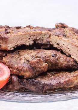 Сочная, мягкая, жареная говяжья печень