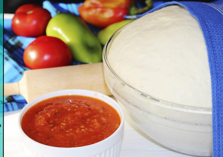 Тесто и Соус Для пиццы - Настоящий Итальянский Рецепт - Рецепты nk cooking